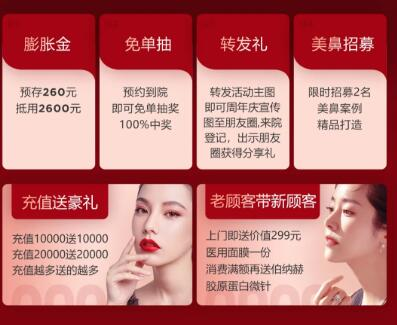 南京华美医疗整形医院11月优惠年终盛典